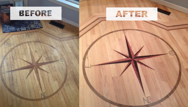 100% Dust Free Floor Refinishing